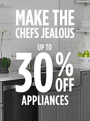 Up to 30% off top appliance brands | Use your Sears card & get extra 5% off or 12 mo. special financing Plus, free delivery on appliances $499+*