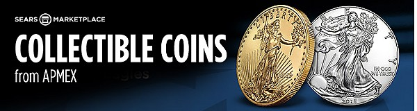 Collectible coins from APMEX
