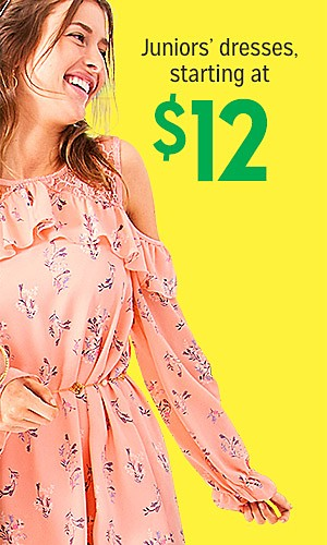 $12 Juniors' Joe Boxer Dresses