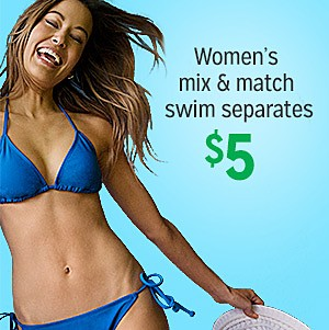 $5 Women's Swim Mix & Match Separates