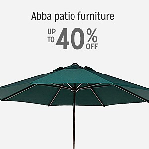 Up to 40% off on Abba Patio furniture