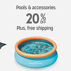 20% off & More Swimming Pools & Accessories | Plus, free shipping