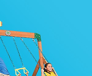 Up to 25% off featured swing sets