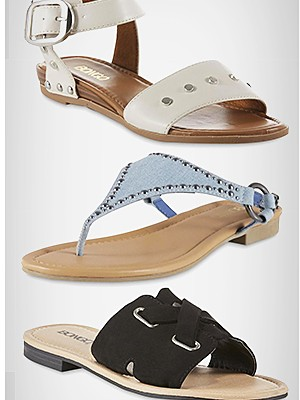 Women's spring sandals Starting at $14.99