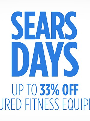Up to 33% off featured fitness equipment