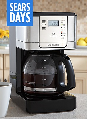 Mr. Coffee coffee makers up to 25% off