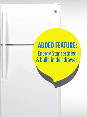Get More with the Same Price After CASHBACK in points. Added Feature: Energy Star certified & built-in deli drawer