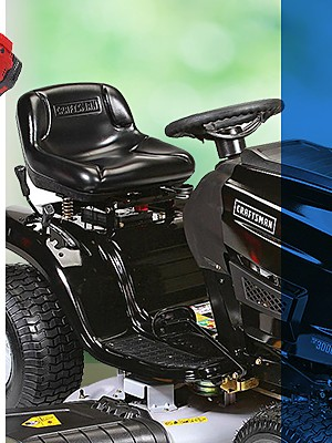 "Up to 25% off Lawn & Garden ft. $1,399.99 Craftsman 27330 42"" 20 HP Kohler V-Twin Riding Mower"