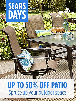 Up to 50% off Patio Furniture + extra 10% off with code: BIG SALE