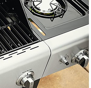 Up to 25% off grills + extra 10% off with code: SHOWERS