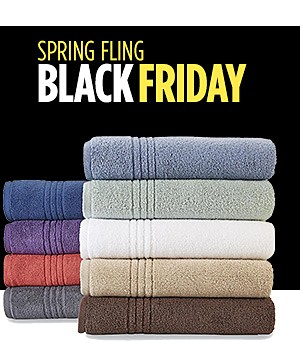 $4.49 & up Colormate soft & plush towels reg. $12.99