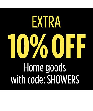 Extra 10% off Home goods