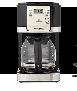 $35.99 Mr. Coffee 12 cup brewer reg. $39.99
