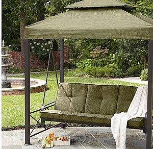 Garden Oasis 3-Person Gazebo Swing