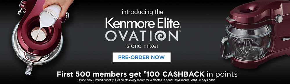 Introducing the Kenmore Elite Ovation Stand Mixer