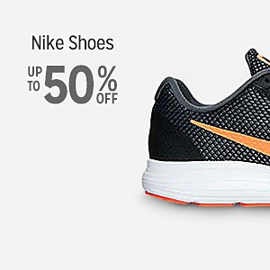 Up to 50% off Nike Shoes