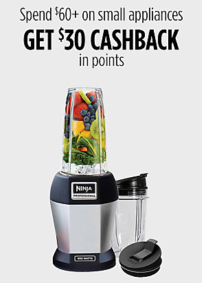 Spend 60+ on small kitchen appliances get $30