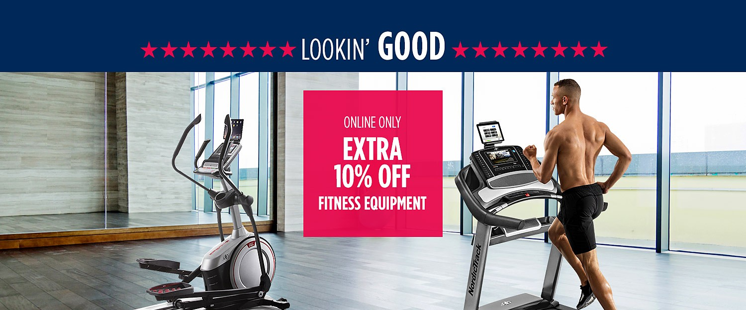 Up to 33% off featured fitness