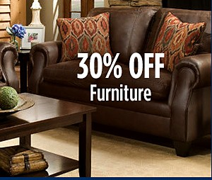 30% Off Living Room Furniture