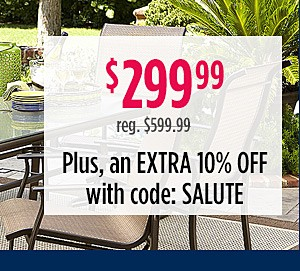Harrison 7pc Patio Set, $299.99