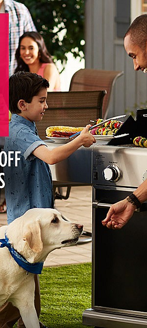 Grills up to 30% off