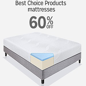 Best Choice Products mattreses 60% off