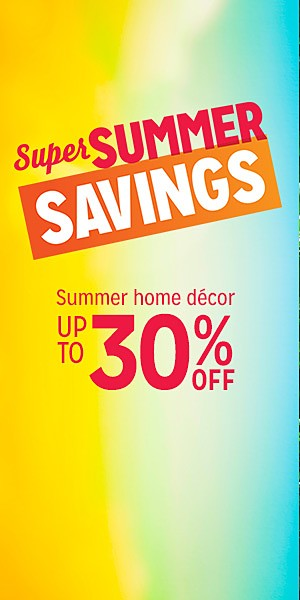 Up to 30% off Home Decor