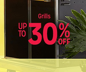 Up to 30% off Grills + extra 10% off w/code: HEROES