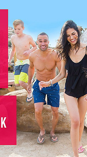 Swimwear For The Family! Up to 50% off Men's, Women's, and Kids