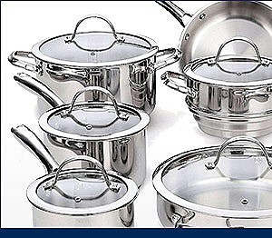 Select Cookware up to 25%off
