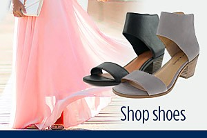 Spend $40+ on shoes, Get $20 CASHBACK �in points