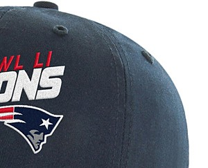 NFL Super Bowl LI Champions Men's Hubris Hat - New England Patriots