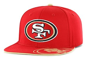 NFL Men's Snapback Hat - San Francisco 49ers