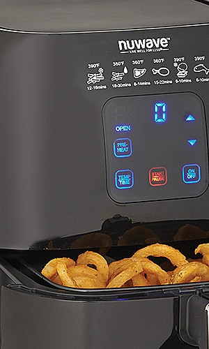 Nu Wave air fryer, $99.99