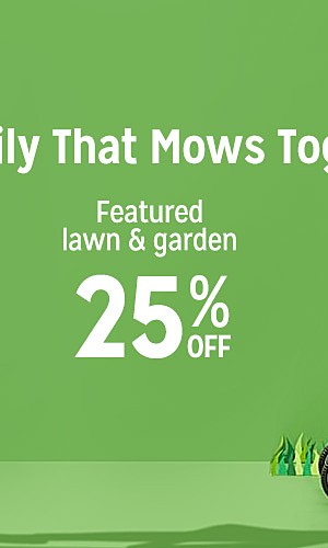 Featured Lawn & Garden, 20% off