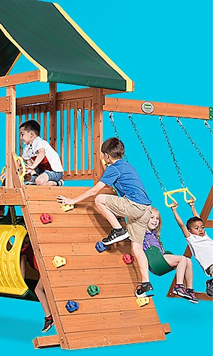 Featured swing sets, up to 30% off