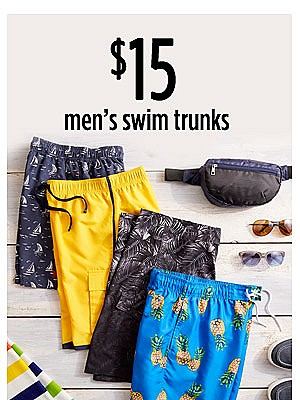 $15 Men's swim trunks