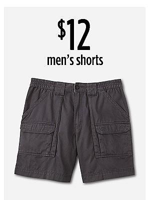 $12 men's shorts