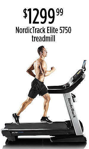 NordicTrack Elite 5750 Treadmill, $1299.99