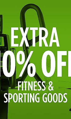 Extra 10% off Fitness & Sporting Goods