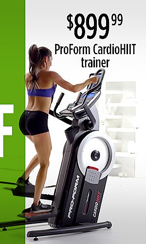 ProForm CardioHIIT Trainer, $899.99