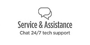 Service & Assistance | Chat 24/7 tech support
