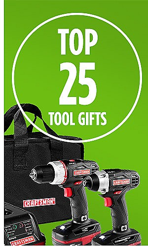 Top 25 Tools Gifts