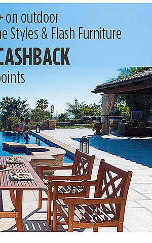 $50 CASHBACK when you spend $75 on ODL including Brands Safavieh, Home Styles & Flash Furniture