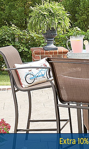 Patio Furniture up to 45% off | Plus, extra 10% off online with code: FORDAD
