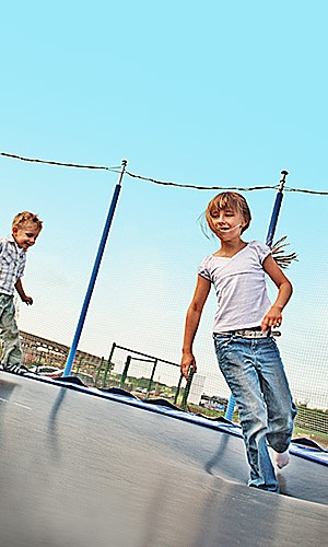 Featured trampolines, up to 35% off