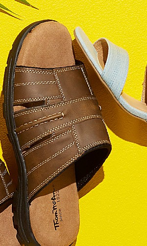 BOGO $1 sandals for the family