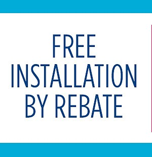 Free Installation by Rebate