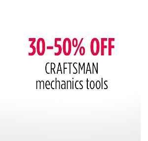 30-50% off Mechanic's Tools