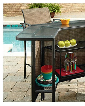 Garden Oasis Harrison 5 pc. Outdoor Bar Set $349.99
